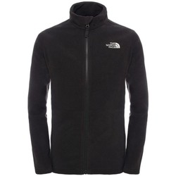Vêtements Enfant Polaires The North Face Polaire  Snow Quest Fz Black Noir