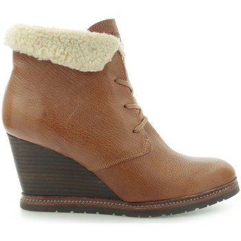 Chaussures Femme Bottines Marc O'Polo Marc Opolo Tumbled Kid Taupe Marron