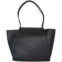 Sacs Femme Sacs porté épaule Pourchet Sac porté épaule  en cuir ref_pou41946-noir-38*25*11 noir