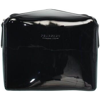 Sacs Femme Sacs porté main Pourchet Sac Pochette porté travers  ref_pou41941-noir-19*15*6 noir
