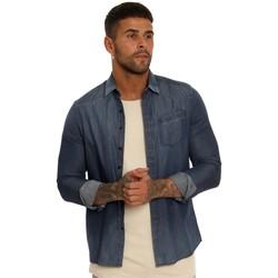 Vêtements Homme Chemises manches longues Pearly King JARGON Bleu