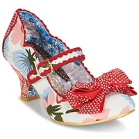 Chaussures Femme Escarpins Irregular Choice BALMY NIGHTS Blanc / rouge