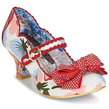 Chaussures Femme Escarpins Irregular Choice BALMY NIGHTS Blanc / rouge