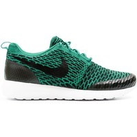 Chaussures Homme Baskets basses Nike Baskets Light Roshe Flyknit  - les VERTS