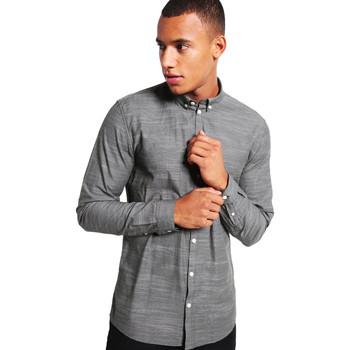 Vêtements Homme Chemises manches longues Minimum CRESCENT Vert Foncé