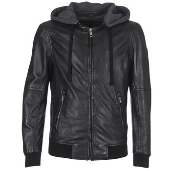 Vêtements Homme Vestes en cuir / synthétiques Oakwood JIMMY Noir