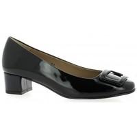 Chaussures Femme Escarpins So Send Escarpins cuir vernis Noir