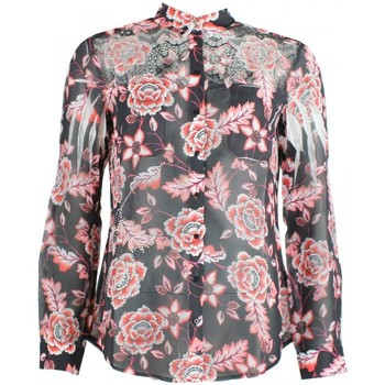 Blouses Guess chemise clouis red floral print