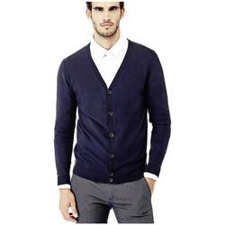 Vêtements Homme Gilets / Cardigans Guess Cardigan Homme Paul Bleu Marine M73R15 19