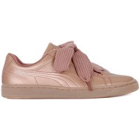 Chaussures Femme Baskets basses Puma Basket Heart Copper rose