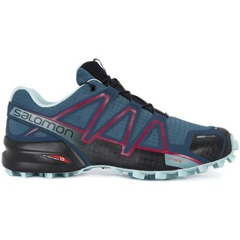 Chaussures Femme Baskets basses Salomon Speedcross 4 CS W Gris