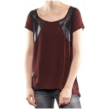 Vêtements Femme T-shirts manches courtes Le Temps des Cerises T-shirt  Batavia passion red
