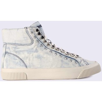 Chaussures Diesel y01518 p1540 s-Mustave sneakers femme denim light blue