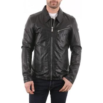 Vêtements Vestes en cuir / synthétiques Redskins Willy OTTAWA Noir Noir