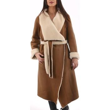 Vêtements Manteaux Giorgio Sora Soft Camel Camel
