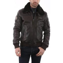 Vêtements Vestes en cuir / synthétiques Redskins Rafal YCON Marron Marron