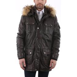 Vêtements Vestes en cuir / synthétiques Deercraft Pat W17 Marron Marron