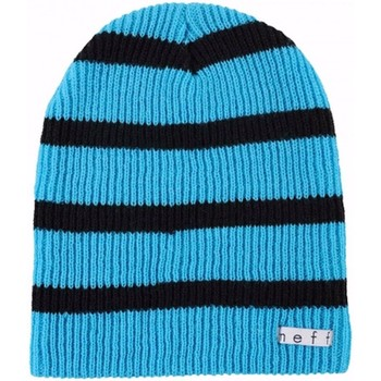Accessoires textile Bonnets Neff Bonnet leger  Daily stripes Blue black beanie Multicolore