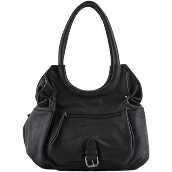 Sacs Femme Sacs porté épaule Miniprix Sac shopping Authentic AUTHENTIC 061-000K6319 NOIR(E)