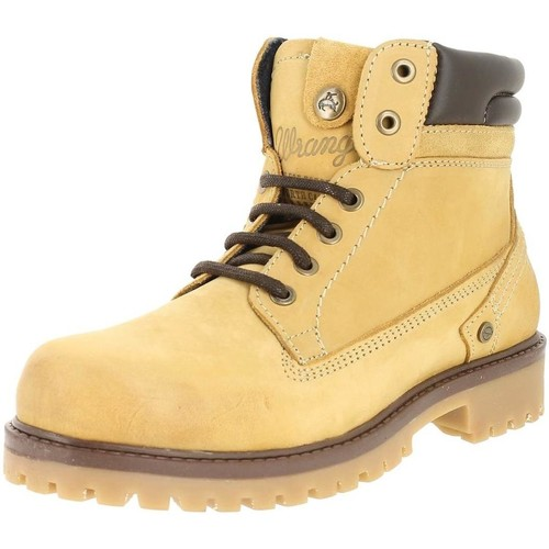 Chaussures Homme Boots Wrangler wm172000 tan