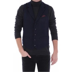 Vêtements Homme Gilets de costume Pearly King PREEN Bleu Marine