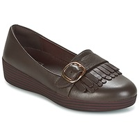 Chaussures Femme Mocassins FitFlop LOAFER/MOC Chocolate Brown