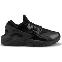 Chaussures Femme Baskets basses Nike Wmns Air Huarache Run Noir Noir
