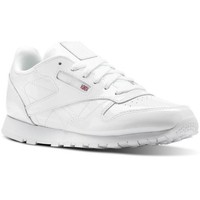 Chaussures Baskets basses Reebok Sport classic leather Blanc-vernis