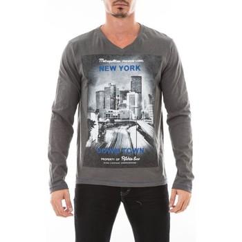 Vêtements Homme T-shirts manches longues Ritchie T-SHIRT JOSS Gris