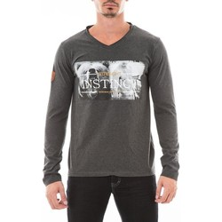 Vêtements Homme T-shirts manches longues Ritchie T-SHIRT JASPAR Gris