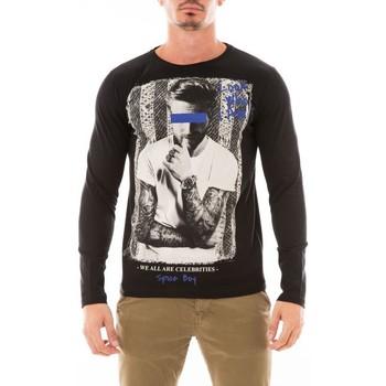 Vêtements Homme T-shirts manches longues Ritchie T-SHIRT JUTANA Noir