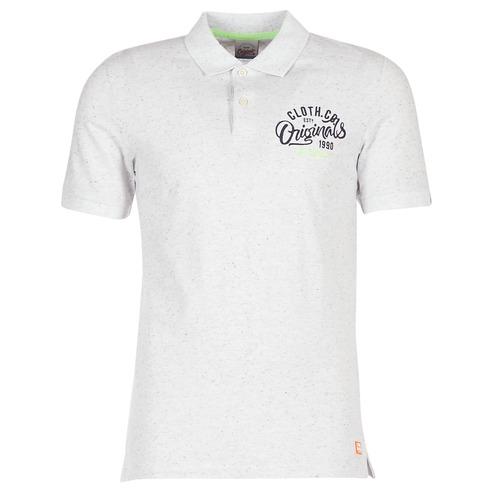Vêtements Homme Polos manches courtes Jack & Jones JORTRAST Blanc