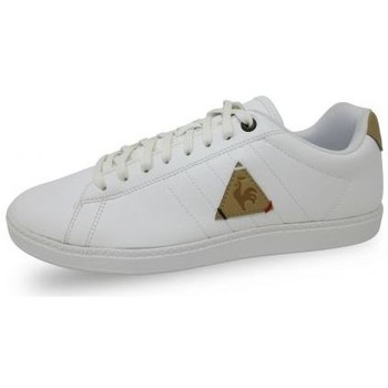 Chaussures Homme Baskets basses Le Coq Sportif Chaussure mode Courtcraft Modern Craft blanc