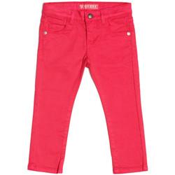 Vêtements Fille Jeans droit Guess Pantalon Fille Rose K73B05 13