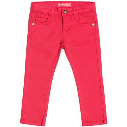 Vêtements Fille Jeans droit Guess Pantalon Fille Rose K73B05