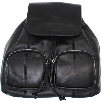 Sacs Femme Sacs à dos Francinel Sac à dos  en cuir ref_lhc41926-noir-26*33*12 noir