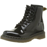 Chaussures Fille Bottines Dr Martens Bottines Delaney noires Noir