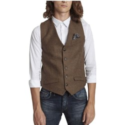 Vêtements Homme Gilets de costume Pearly King ARTISAN CAMEL