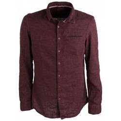 Vêtements Homme Chemises manches longues Pearly King OATH Burgundy