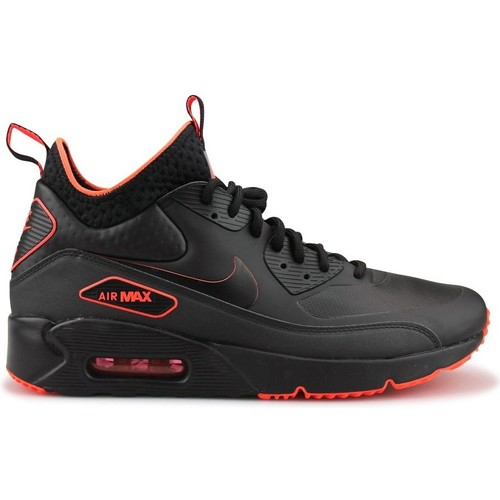 Chaussures Homme Baskets montantes Nike Air Max 90 Ultra Mid Winter Se Noir Noir/Orange