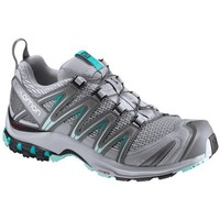Chaussures Femme Multisport Salomon XA PRO 3D W QUARRY/PEARL BLUE/ABLU CHAUSSURES QUARRY/PEARL BLUE/ABLU