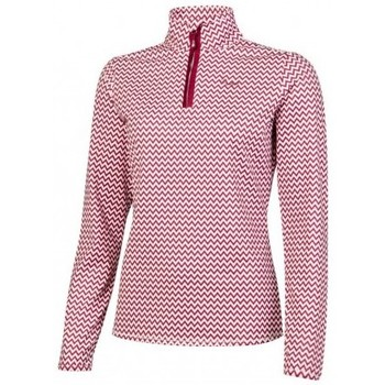 Vêtements Femme Polaires Protest SURPRISE 1/4 ZIP TOP SOUS PULL FEMME BEET RED