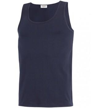 Vêtements Homme Débardeurs / T-shirts sans manche Impetus Débardeur homewear Cotton Organic bleu marine Bleu