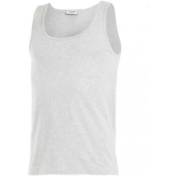 Vêtements Homme Débardeurs / T-shirts sans manche Impetus Débardeur col rond Cotton Organic gris Gris