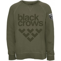 Vêtements Homme Sweats Black Crows Sweatshirt  Full Logo Moss Green Vert