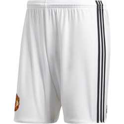 Vêtements Homme Shorts / Bermudas adidas Performance Short Manchester United Domicile Replica Blanc / Noir