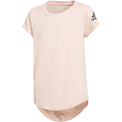 Vêtements Fille T-shirts manches courtes adidas Performance T-shirt adidas Z.N.E. Rose / Noir