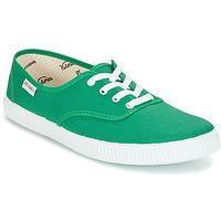 Chaussures Baskets basses Victoria INGLESA LONA Vert