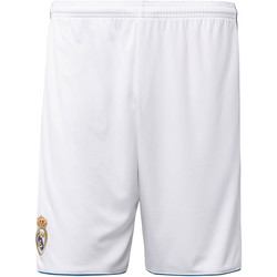 Vêtements Homme Shorts / Bermudas adidas Performance Short Real Madrid Domicile Replica Blanc / Vert