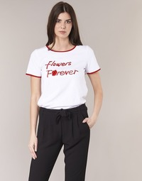 Vêtements Femme T-shirts manches courtes Betty London INNATIMBI Blanc / Rouge